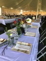Beautiful Wedding under the tent